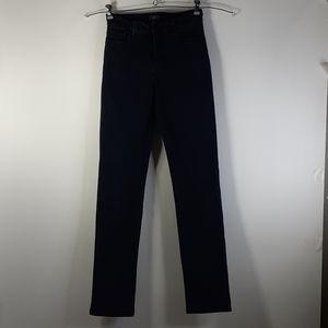 NYDJ Dark Blue  Stretch Straight Leg Jeans Size 4
